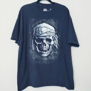 Disney Parks Pirates of the Caribbean T-Shirt. XXL